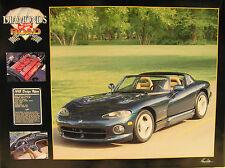 1995 Dodge Viper Poster 18x 24