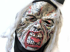 Halloween Crypt Creature Hooded Mask Adult Size