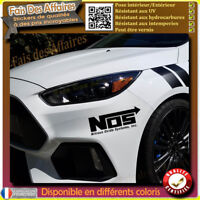 sticker autocollant NOS sponsor tuning auto moto