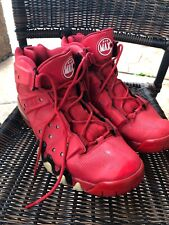 RARE NIKE AIR MAX BARKLEY HYPERFUSE red shoes 488119-601 Size 13