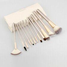 12pc Makeup Brushes Set Cosmetic Powder Foundation Eyeshadow Lip Brush Tool+Case