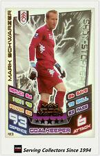 2012-13 Match Attax Man Of Match Foil Card #413 MArk Schwarzer (Fulham)