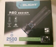 Olight® Torch 2500 Lumens R50 Seeker Rechargeable LED Torch Powerful Flashlight