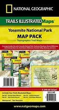 National Geographic Trails Illustrated Maps: Yosemite National Park Map Pack Bun