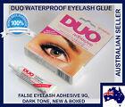 DUO Waterproof Eyelash Glue, False Eyelash Adhesive, Dark-Tone - Dries Black