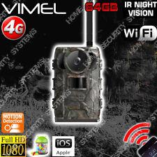 Hunting Camera 4G Owzler 64GB 2K UHD 2560x1440 Trail Farm 3G Night Vision
