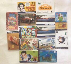 Bulk lot of Australian  phonecards