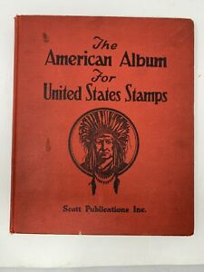 THE AMERICAN ALBUM FOR UNITED STATES STAMPS 1941 EDITION No Stamps