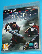 Risen 3 Titan Lords - First Edition - Sony Playstation 3 PS3 - PAL New Nuovo