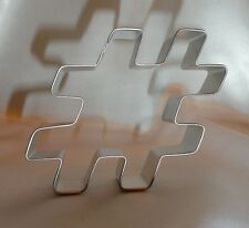 Hash Tag Cookie Cutter, Cookie Recipe, Fondant, Cookies, Party Supplies, Baking