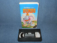 WALT DISNEY'S CLASSIC DUMBO VHS BLACK DIAMOND CLASSIC ORIGINAL IN CLAMSHELL CASE