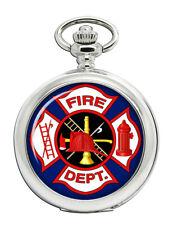 St. Florian's Firefighter Cross Pocket Watch