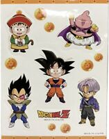 Dragon Ball Dbz Stickers Sticker Set Goku Vegeta Gohan Majin Anime Licensed New