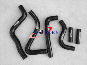 silicone radiator hose FOR Kawasaki KX250 KX 250 1999 2000 2001 2002 99-02 BLACK