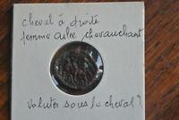 CARNUTES (Région de la Beauce) Bronze PIXTILOS au cavalier