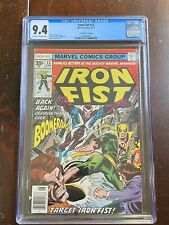Iron Fist #13 (1977) 35 Cent Price Variant - CGC Graded: 9.4 - OW/W Pages