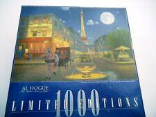 Al Hogue Paris City of MoonlighRomance Limited Editions 1000 Piece Jigsaw Puzzle