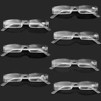 New Clear Rimless Reading Glasses Clear Presbyopia 1.00-4.00 Diopter Eyeglasses