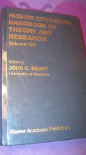 Higher Education Handbook of Theory and Research: Higher Education - Handbook of