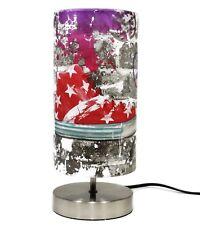 Graffiti Lamp Lampshade Bedside Table Desk Light Boys Urban Bedroom Skate Park