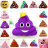 Cute Funny Emoji Poo Shape Message Icon Pillow Soft Pad Large Cushion Toy Doll