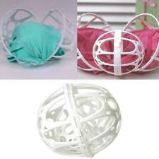 1Pc Double Ball Saver Bra Bubble Washer Protector Bra Laundry Ball Washing K6H7
