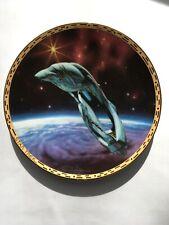 'Romulan Warbird' Star Trek - The Voyages Hamilton Plate 1994