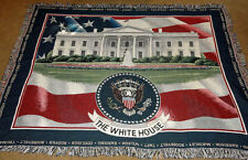 The White House, Washington Dc Tapestry Afghan Throw