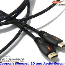 3FT HDMI Cable 0.92m Video Cord Bluray DVD XBOX PS 3 4 Wii U LCD HD TV 1080P USA