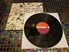 Led Zeppelin 3 III Vinyl LP First Pressing Plum Label Peter Grant Credit A5/B5