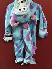 Disney Sully Monsters Inc. 3 Toddler Children Costume NEW