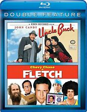 Uncle Buck / Fletch (Blu-ray 2 disc) John Candy, Chevy Chase NEW