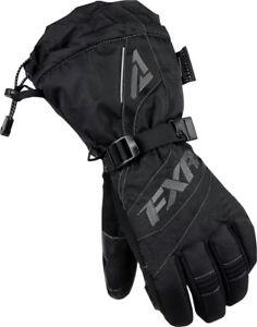 Brand New 2015 Womens FXR Fusion Gloves ~ XL ~ Black/Charcoal ~ # 15614.10016