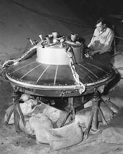 ENGINEER WORKING ON MERCURY CAPSULE 8x10 SILVER HALIDE PHOTO PRINT