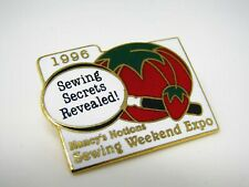 Nancy's Notions Sewing Weekend Expo Pin 1996