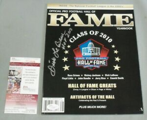 Dick LeBeau, Pgh Steelers, Signed Class of 2010 Hall Of Fame Yearbook, JSA