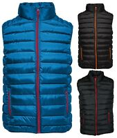 Only & Sons Mens New Liner Puff Gilet Regular fit SOLID WAISTCOAT XS - XXL