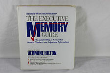The Executive Memory Guide 6-Cassette Home Study Course ~ Hilton
