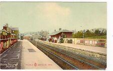 More details for railway station, castle douglas: kirkcudbrightshire postcard (c2742).