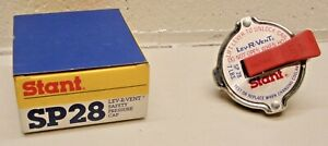 SP28 Stant Lev-R-Vent Safety Pressure Radiator Cap 7lbs NOS ref # 10328 made USA