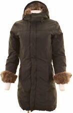 WOOLRICH Womens Padded Coat Size 6 XS Black  CX02