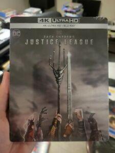 Zack Snyder's Justice League Steelbook (Blu-ray + 4K UHD) BRAND NEW!! Snyder Cut