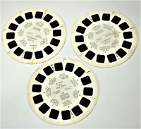 Vintage Reel Set of 3 Fairy Tale Classics for View-Master E Stereoscope D1