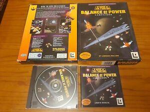 Star Wars X-Wing v Tie Fighter Balance of Power PC BIG BOX