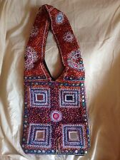 New Hand-Beaded Shoulder Bag