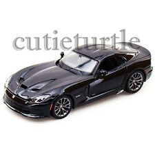 Maisto 2013 Dodge Viper SRT GTS 1:24 Diecast Model Toy Car 34271 Black