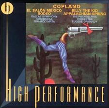 Copland: El Salón México; Suites: Rodeo & Billy the Kid; Appalachian Spring Var