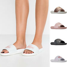 342305b27 Womens Lacoste Sandals Lacoste Croco Pool Slides NEW