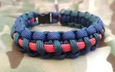 The Black Watch Royal Highland Regiment ssafa Inspiré Paracord 550 Bracelet