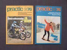 DDR Zeitschrift Practic Jahrgang 1976, Nr.3 und 4, Modellbau und Basteln, FDJ